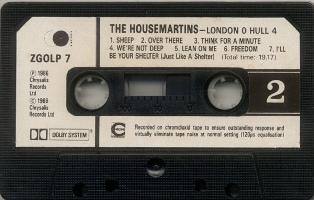 THE HOUSEMARTINS - London 0 Hull 4 (casete B)