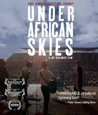 PAUL SIMON'S GRACELAND JOURNEY - UNDER AFRICAN SKIES  cartel