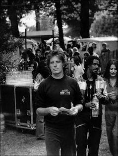 CHRIS BLACKWELL EN EL ÚLTIMO CONCIERTO DE BOB MARLEY (CRYSTAL PALACE, LONDRES, 1980)