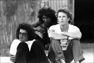 CHRIS BLACKWELL EN JAMAICA EN 1982