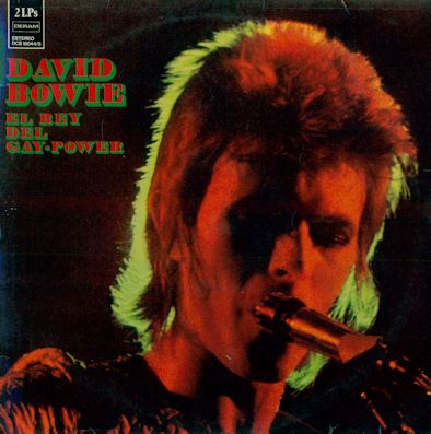 87 DAVID BOWIE - El rey del gay-power (censurado en E, frontal)