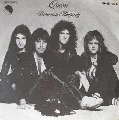 Queen - Bohemian Rhapsody (portada España)