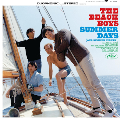 5 The Beach Boys - Summer Days (and Summer Nights!!)