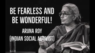Aruna Roy Biography