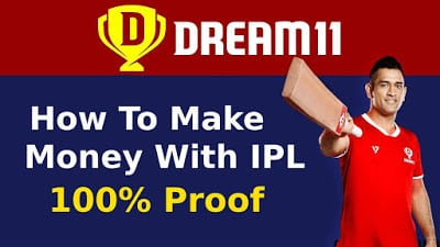 How To Make Money With IPL DREAM11 Get Free ₹100/Signup