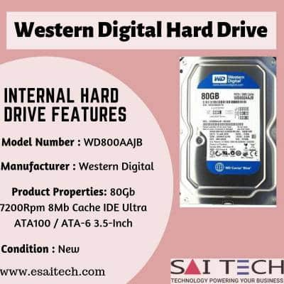 External or Internal Hard Drive