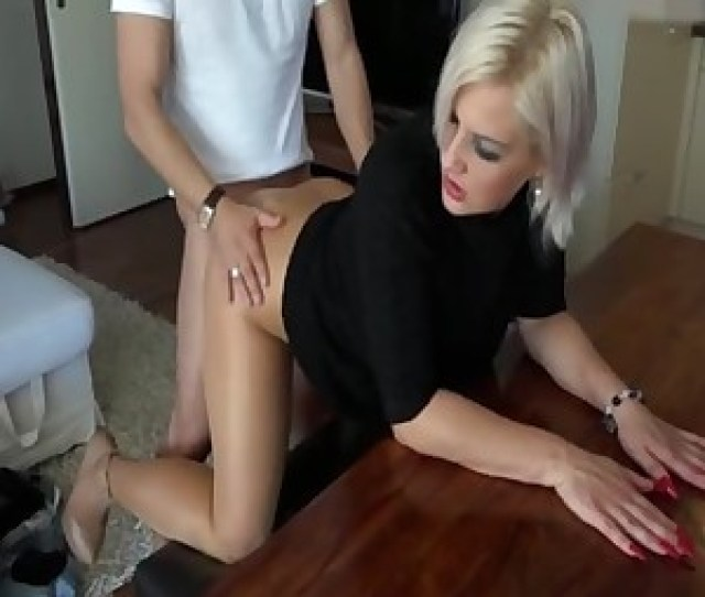Nastyplace Org Fantastic Mom Gets Fucked In Tan Shiny Pantyhose