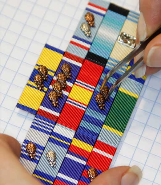 home ultrathin ribbons medals