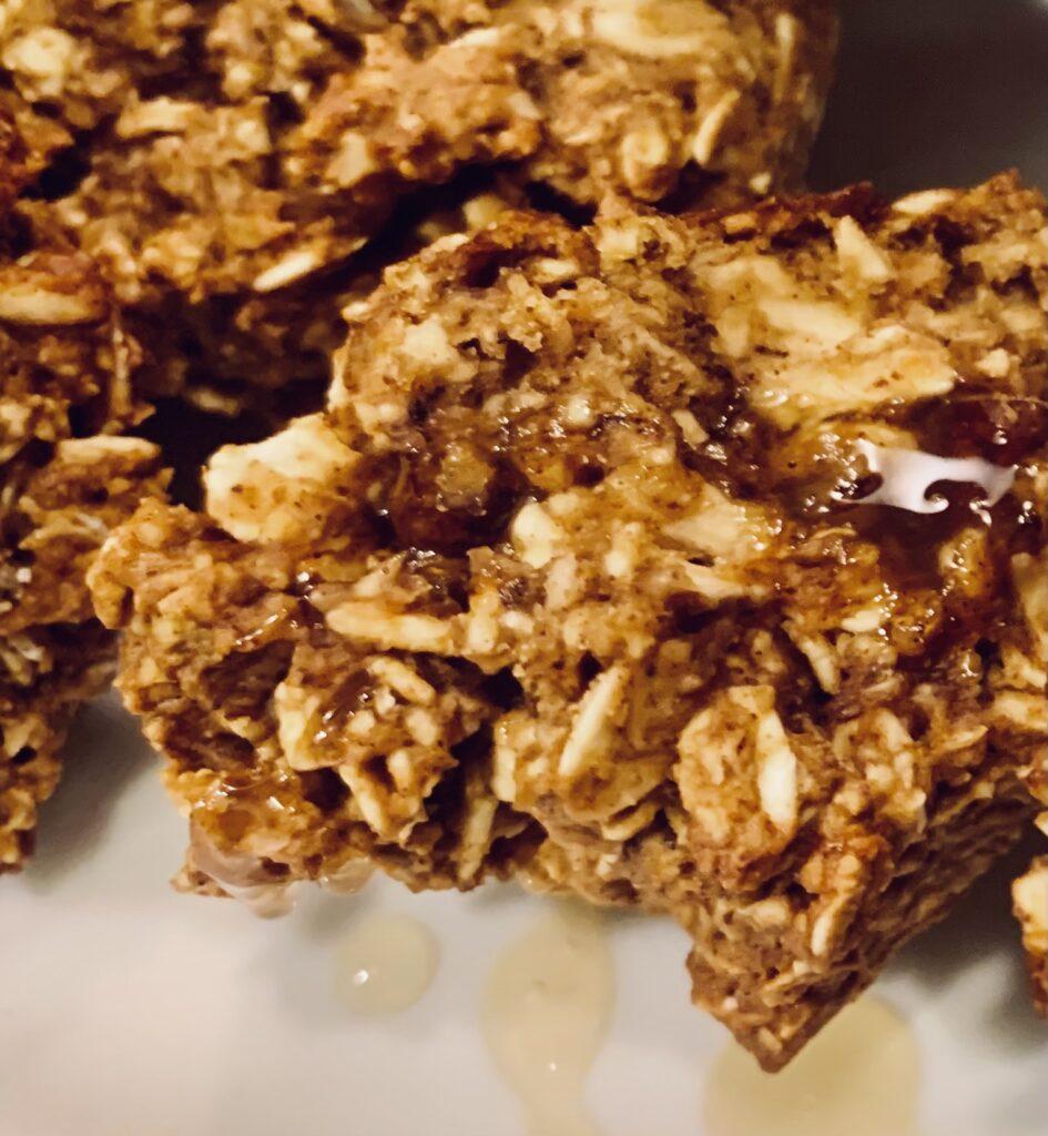 Pumpkin Pecan Breakfast Cookies