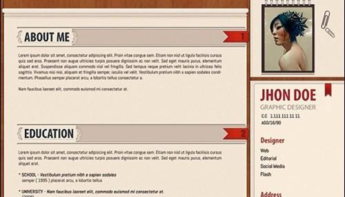 84+ Best Free Creative Resume Templates • Marketing Blog by Rioks.