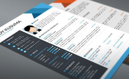 Free-Resume-Template-Flasher-3-Colors-PSD