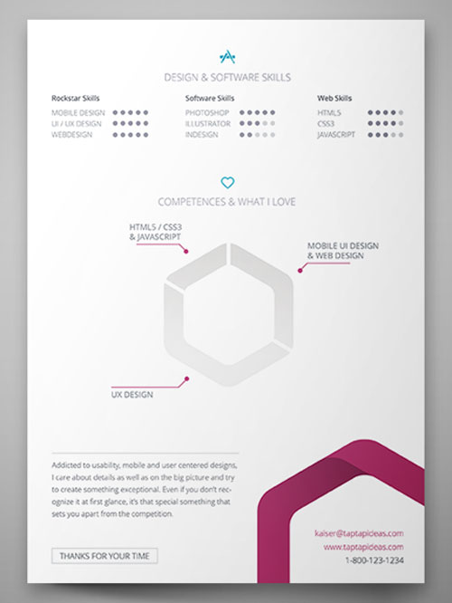 Free-Vita-Resume-InDesign-Template