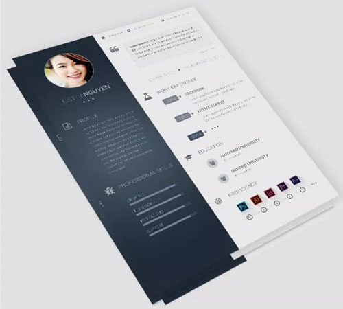 112 Best Free Creative Resume Templates Download