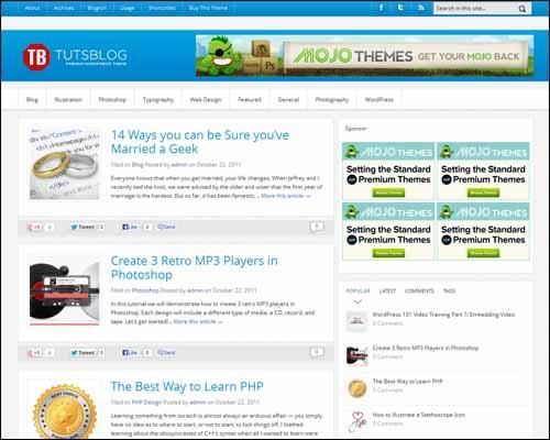 free-wordpress-theme-tutsblog