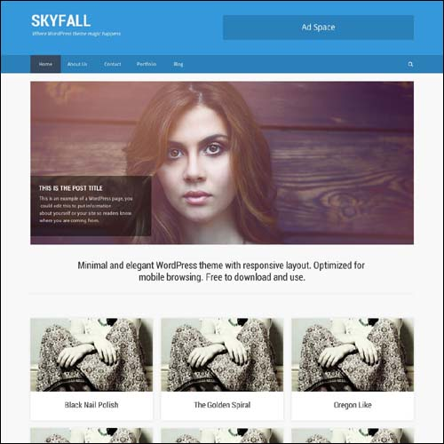 skyfall-wordpress-theme