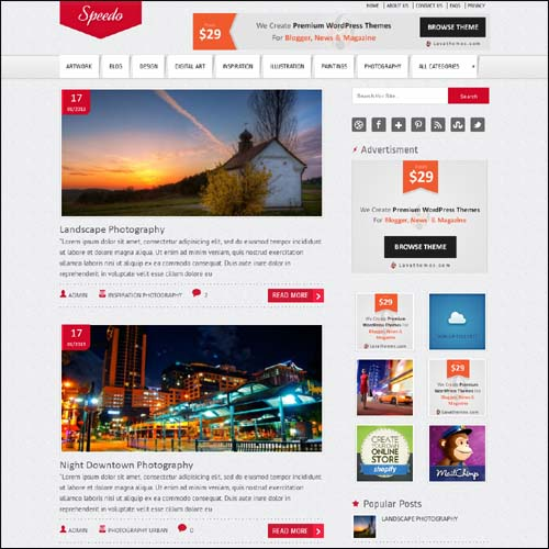 speedo.free.wordpress.theme