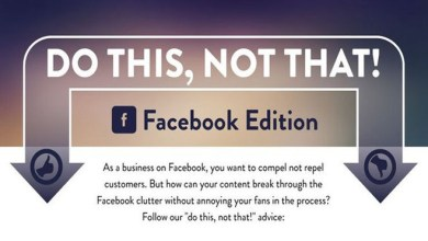 "Photo of ""Do This, Not That"" Advice for Facebook Successful Business Page – Infographic"