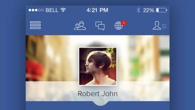 Photo of Facebook iOS Redesign Concept