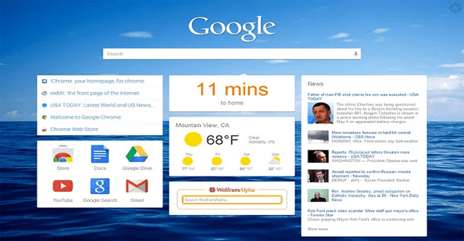 Missing iGoogle ? Make Your New Tab Page in Chrome Useful with iChrome