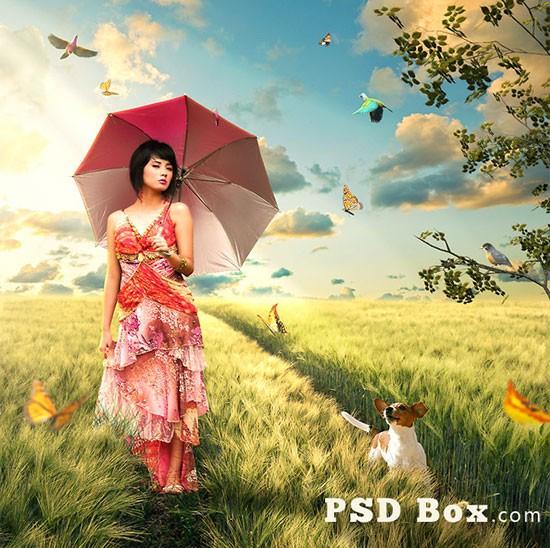 10 SURREAL FANTASY PHOTOSHOP PHOTO MANIPULATION TUTORIALS