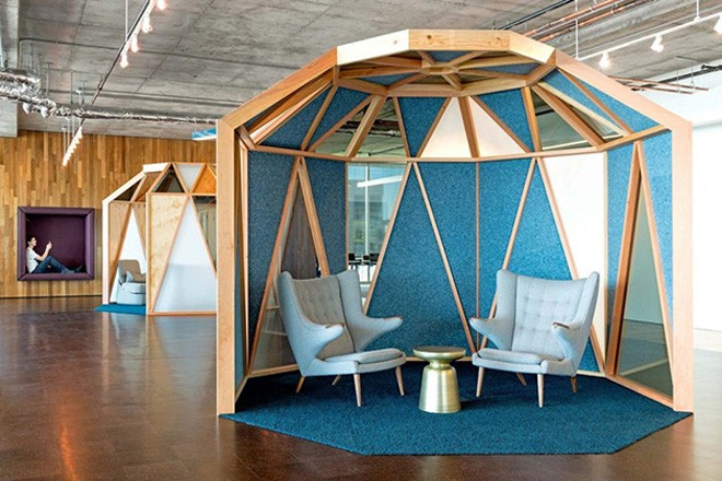 Cisco Office In San Francisco by Studio O+A
