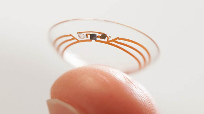 Google's 'smart contact lens' to measure glucose levels