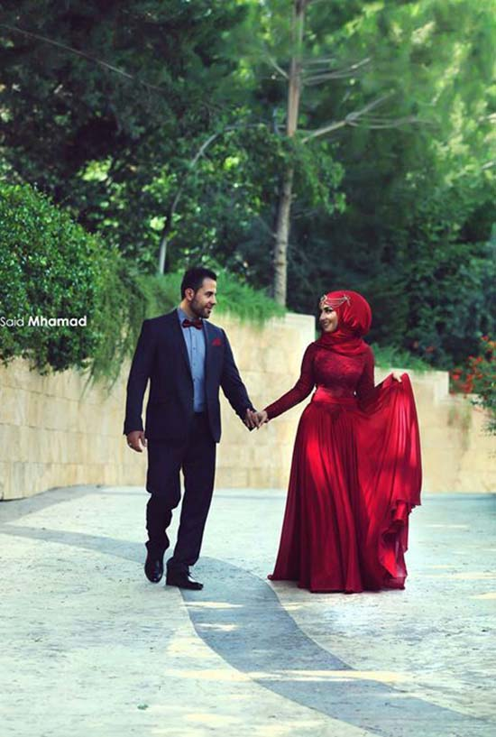 cute islamic couples images