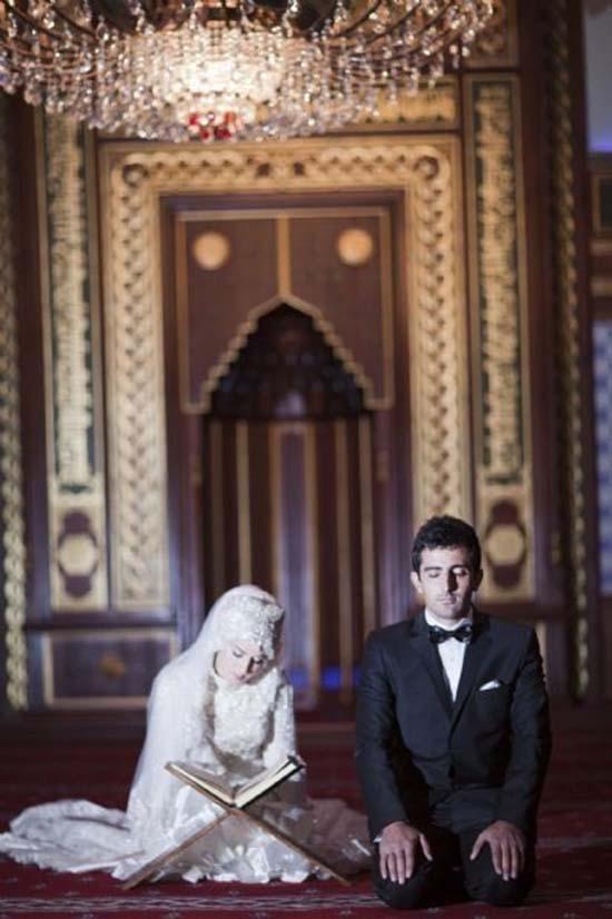 cute islamic couples photo
