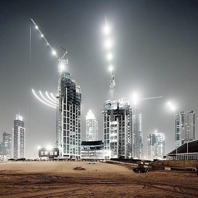 Dubai Cityscape - Modern Photography