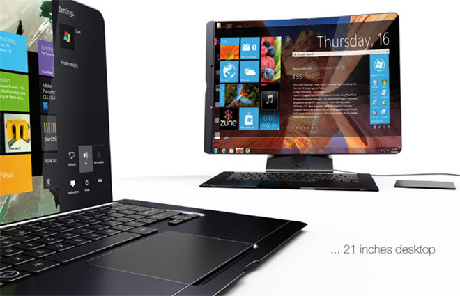 Concept Design - The Hybrid Laptop