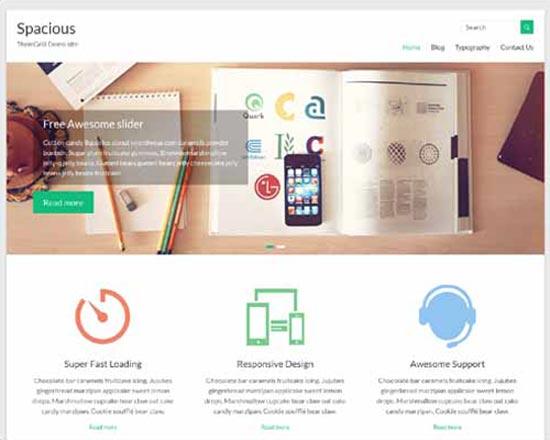 wordpress free responsive theme