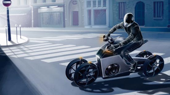 VOLKSWAGEN S4FE - Electric Bike Concept