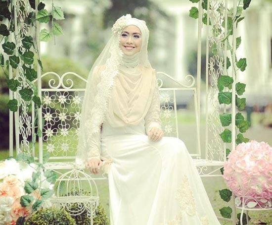 Muslim Wedding Dresses with Sleeves