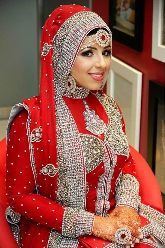 red wedding dresses