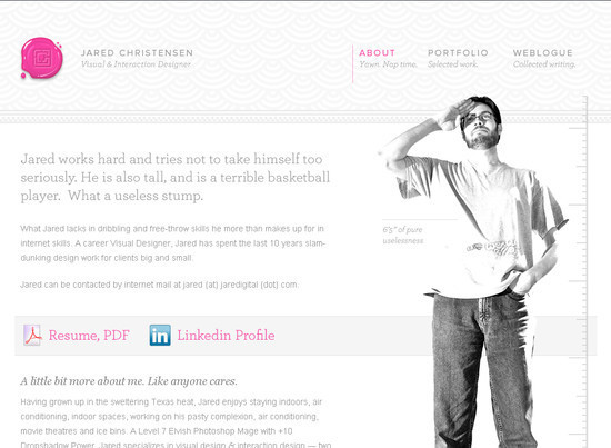 38+ Best About Me Page Examples for Websites and Blogs