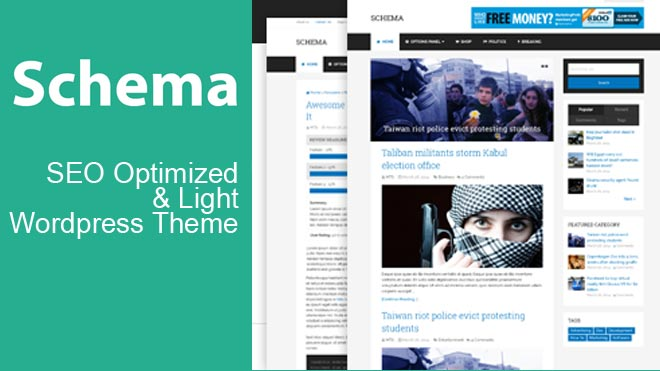 Seo Optimized wordpress theme
