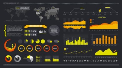 Photo of 50+ Free Infographic Templates PSD Download