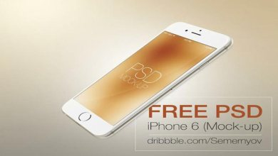 Photo of 20 Best Free iPhone 6, 6 Plus VectorAnd PSD Mockups Designs Templates