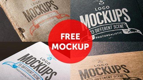 FREE Logo Mock Ups