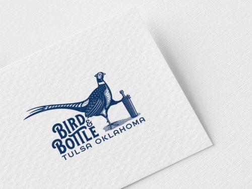 Free bird-Logo Mockup
