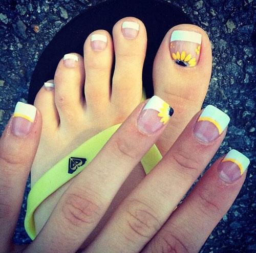 Toe nail art ideas