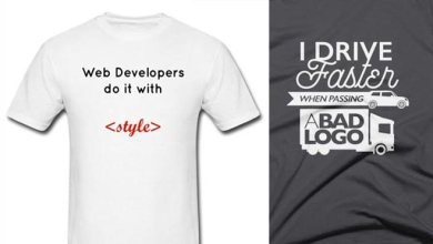 Photo of 29 Cool Tees For Creative Graphic and Web Designers