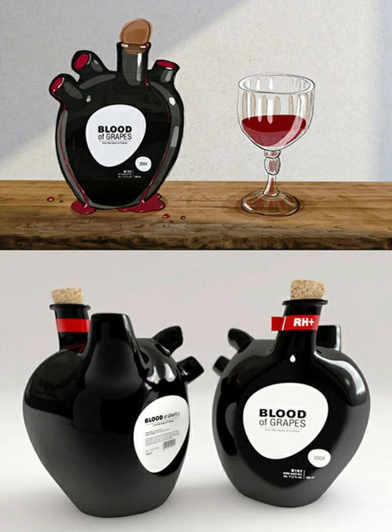 heart-drink-product packaging design