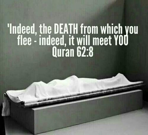 quran quotes about death