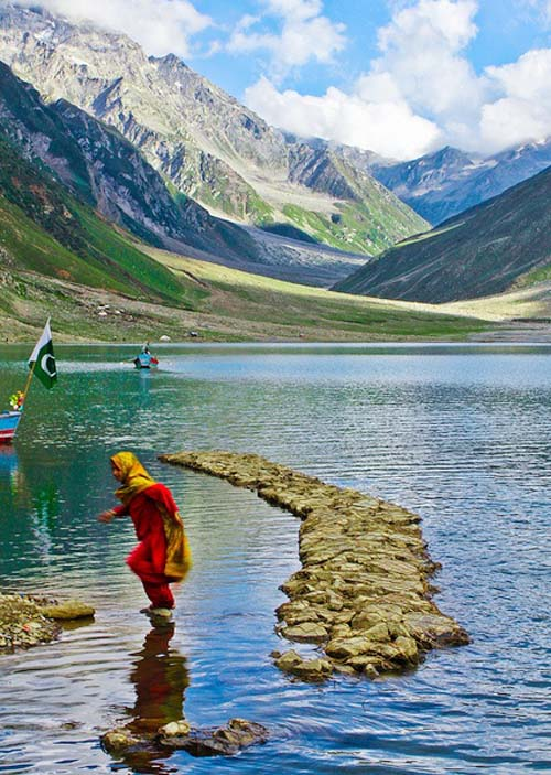 Lake Saif-ul-Maluk, Kaghan, Pakistan.