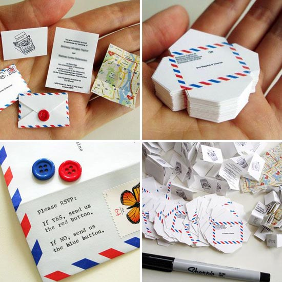 diy wedding invitations 1