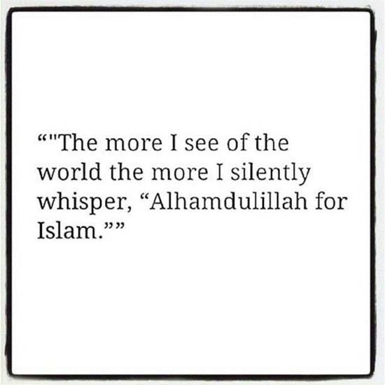 islamic quotes about alhamdulilah