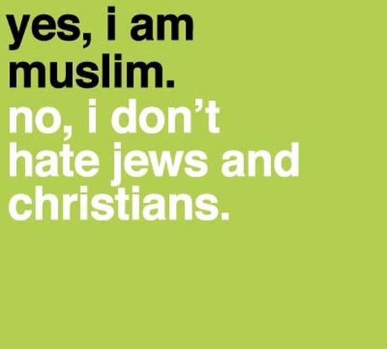 jews christians muslim quotes