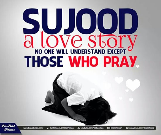 sujood quotes of islam