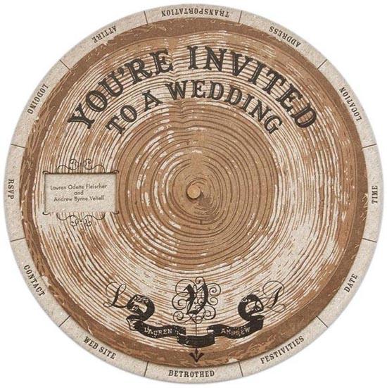 vintage wedding invitations 1